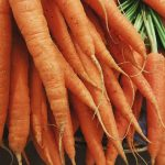 garden carrots, vegetable gardening, home grown veggies